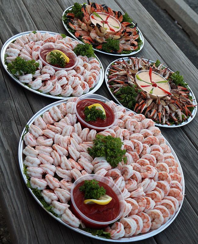 Shrimp party trays