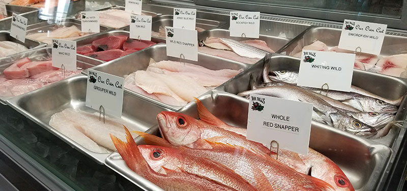 photo of red snapper fish